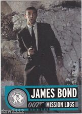 JAMES BOND MISSION LOGS P4 PROMO PHILLY SHOW EXCLUSIVE CARD SEAN CONNERY