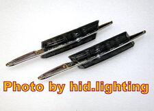 BMW M LED Smoke Side Marker Lights Turn Signals Amber Yellow SMD E46 1998-2001