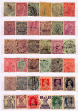Collection of 50 Old Indian (British India Period) Stamps,