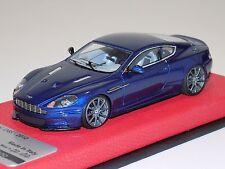 1/43 Tecnomodel Aston Martin DBS in Aviemore Blue Titanium wheels Leather Lim. 2