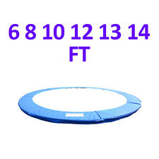 6 8 10 12 13 14 FT Replacement Trampoline Pad Safety Guard Spring Cover Padding