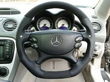 Mercedes CLS SL CLK E Class Steering Wheel  R230 W209 W211 W219 Leather  AMG