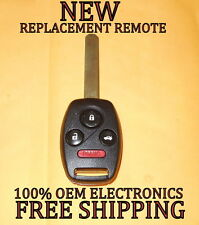 NEW UNCUT HONDA CR-V FIT INSIGHT REPLACEMENT KEYLESS REMOTE HEAD FOB MLBHLIK-1T
