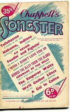 Chappells Songster Number 35