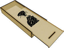 'Japanese Woman' Wooden Pencil Case / Slide Top Box (PC00005924)