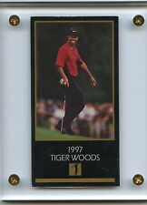 "1997 GRAND SLAM VENTURES TIGER WOODS ""1997 MASTERS"" ROOKIE RC, PGA GOLF"