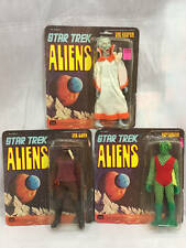 VINTAGE MEGO STAR TREK ALIENS LOT MOC GORN, THE KEEPER & NEPTUNIAN