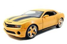 2010 CHEVY CAMARO SS DIE CAST 1/18 YELLOW BY JADA LOPRO 96382