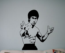 Bruce Lee Wall Vinyl Decal Film Actor Vinyl Sticker Martial Artist Home Decor 19