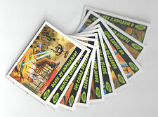 "MARS ATTACKS! HERITAGE (Topps/2012) Complete ""DELETED SCENES"" Chase Card Set"