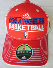 LOS ANGELES CLIPPERS NBA RED VINTAGE ADJUSTABLE STRAP-BACK ADIDAS CAP HAT NEW!