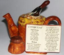 Tony Carter Teapot Cottage Loaf Design - Rare.