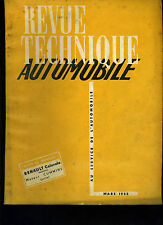 (C12)REVUE TECHNIQUE AUTOMOBILE RENAULT COLORALE / MOTEUR CUMMINS