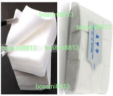 900X Lint Free Nail Art Manicure Polish Remover Cleaner Wipe Cotton Pads Paper B