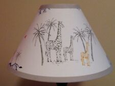 Owen Safari Fabric Nursery Lamp Shade M2M Pottery Barn Kids Bedding