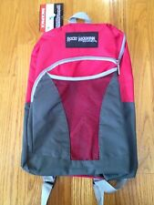 ROCKY MOUNTAIN EQUIPMENT BACK PACK RED/GREY NEW