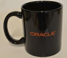 Oracle  Black Ceramic Coffee Cup Mug ~ Advertising NEW in BOX