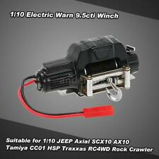 1/10 Mini Electric Warn 9.5cti Winch fr RC 1/10 JEEP Axial SCX10 HSP Tamiya F2T7