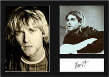 KURT COBAIN #1 Signed Photo Print A4 Mounted Photo Print - FREE DELIVERY