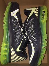 New Nike Air Max 2015 2016 Running Shoes 746687-014 Lime Men's Sz 12 R$200