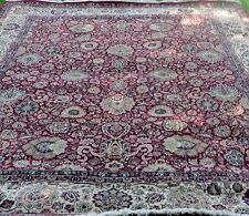 "Persian Rug One of a Kind Multi-Color  Handmade  Size 116 "" X  95.5 """