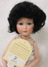 WEE 3 - BABY Doll Wig Size 10-11 ½ Color BLACK ~ for BABY or BOYS - Full Cap