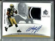 Antonio Pittman 2007 SP Authentic Autograph Game Jersey Patch Rookie #418/725