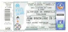 Billet  / Place  OM Olympique de Marseille -OM vs Toulouse ( 043 )