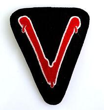 V - Die außerirdischen Besucher - Patch  Uniform Aufnäher - zum aufbügeln - neu