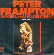 """7"""" Peter Frampton/Signed Sealed Delivered (D)"""