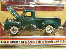 YATMING Pickup Series 1953 FORD F-100 Pick Up Green 1/64 MOGC GREAT US Truck *