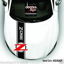 Whole Body Stripes Fits NISSAN 350Z  From Hood, Roof Top and Rear  2006 TO 2015