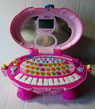 Disney Cinderella VTECH Laptop Pink Princess Carriage Educational Games Music