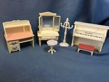 SYLVANIAN FAMILIES ORIGINAL PIANO DESK DRESSING TABLE ETC BEDROOM HOUSE HOTEL