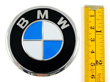 "BMW ★4 x NEW★ Emblems 60mm (2 3/8"") WHEEL CENTER CAP STICKERS 3D DECALS"