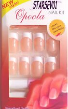 24 FAUX ONGLES ROSE FRENCH MANUCURE REF 3 & 5 + 1 COLLE