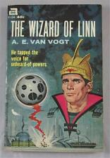 WIZARD OF LINN A E VAN VOGT 1962 ACE #F-154 1ST ED PAPERBACK PBO
