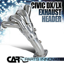For 01-05 Honda Civic DX/LX D17A1 1.7L SOHC Stainless Manifold Header Extractor