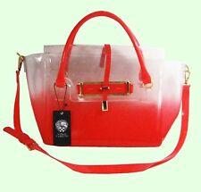 VINCE CAMUTO Jelly Polyvore Paradise Pink Satchel Shoulder Bag Msrp $148.00
