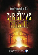 Ancient Secrets of the Bible: The Christmas Miracle (DVD, 2014)