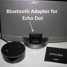 30 Pin Bluetooth Adapter for Amazon Echo Dot and Bose SoundDock CoolStream Duo