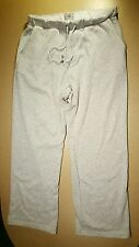 UGG MENS GRAY FLEECE LINED SWEAT PANT w/ Drawstring,  XLarge w/ Pockets EUC