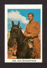 Lex Barker Winnetou Old Shatterhand Vintage Card from Sweden #254