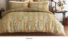 Sheridan Deluxe Living- Barras Eucalyptus Queen Bed Quilt Cover RRP $279.95