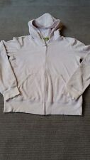 Juicy Couture Pale Pink Terry Jacket Size L Made in the Glamorous USA