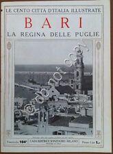 Le cento città d'Italia illustrate - n° 104 - Bari - La regina delle Puglie
