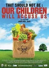 DVD NEUF Our children will accuse us film de Jean Paul Jaud Film en Francais