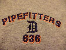 DETROIT PIPEFITTERS UNION t shirt sz S SUPERB CONDITION