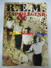 BOOK LIBRO R.E.M. Map & legend 2004 LO VECCHIO  lp dvd live **