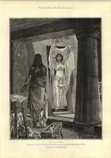 1889 Cleopatra Sweeps In Artwork Caton Woodville